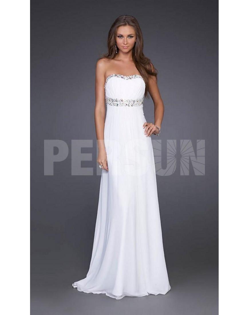 Belle robe de soiree pas cher
