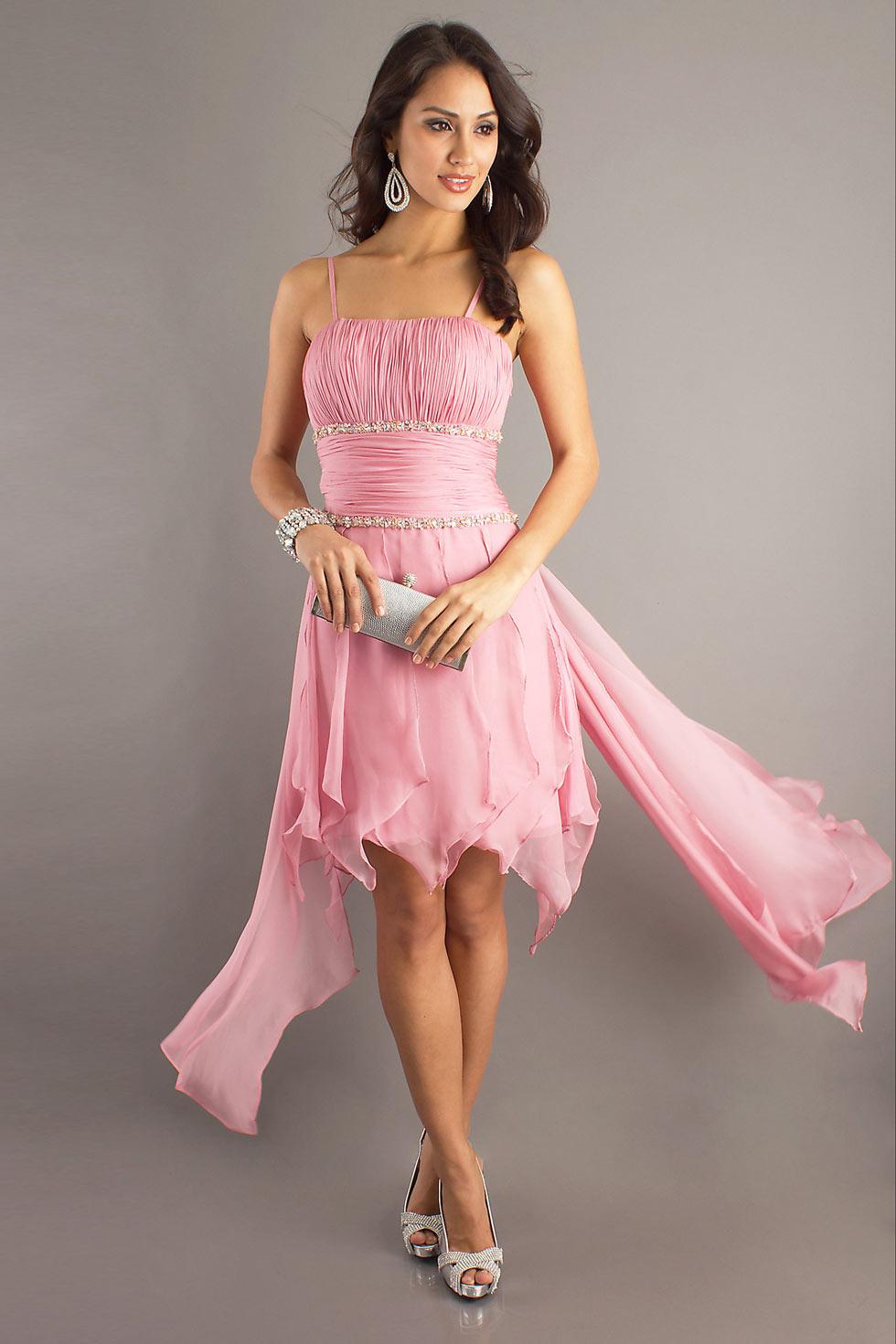 Robe rose pale pour mariage