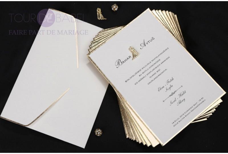 carte d invitation mariage la boutique de maud. Black Bedroom Furniture Sets. Home Design Ideas