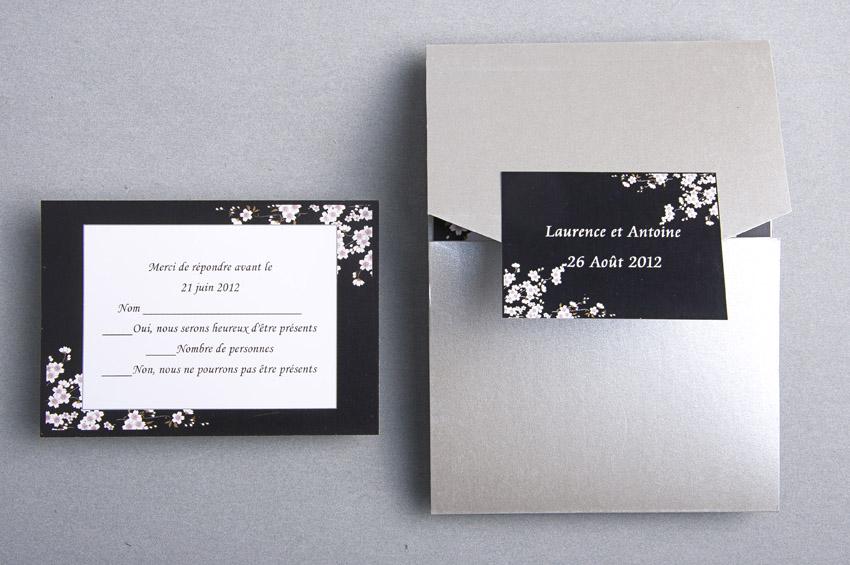 Exceptionnel Faire part naissance noir et blanc - La boutique de Maud ON77