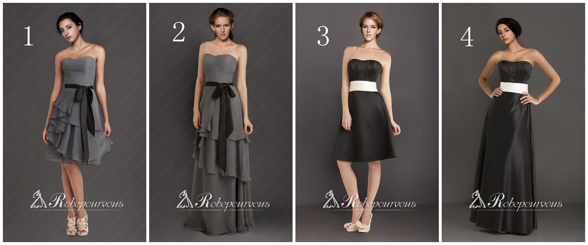 Robe bustier pas cher soiree