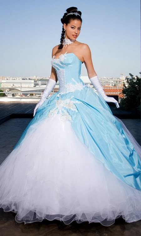 robe de mari e blanche et bleu turquoise la boutique de maud. Black Bedroom Furniture Sets. Home Design Ideas