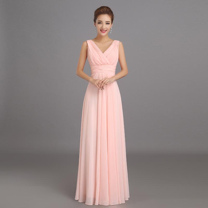 Une robe longue rose mariage la boutique de maud for Robes de mariage discount orlando fl
