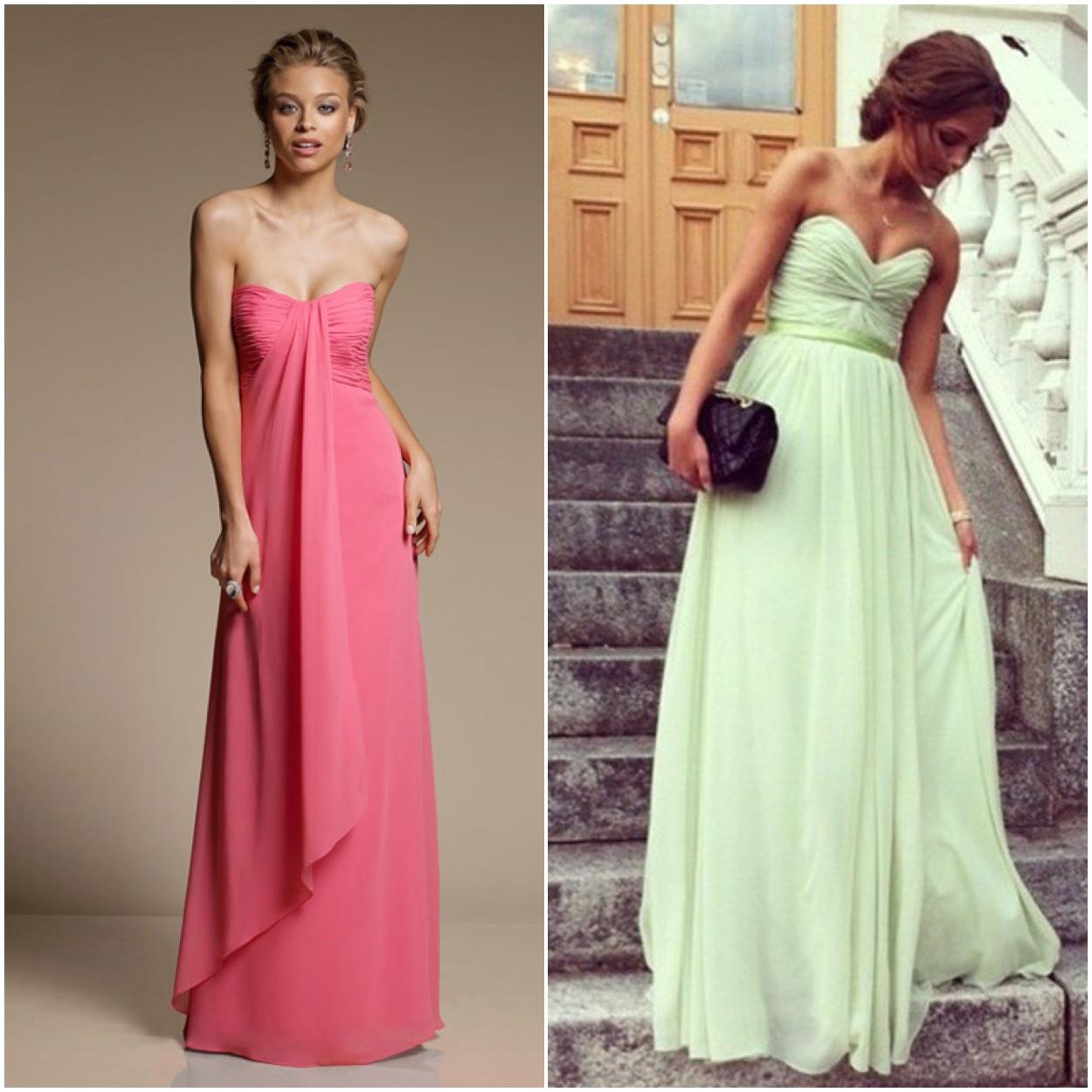 Une robe longue pour un mariage invité - La boutique de Maud