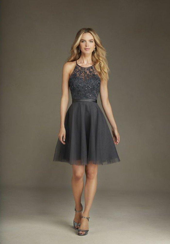 une robe grise et rose pour mariage la boutique de maud