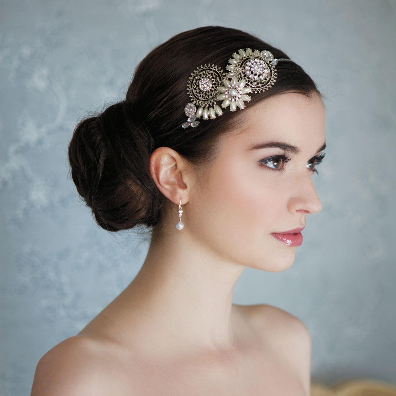 Bijoux cheveux pour mariage Bijoux mariage cheveux Accessoire
