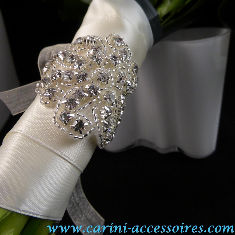 Bracelet strass mariage la boutique de maud - Strass pour bouquet de mariee ...