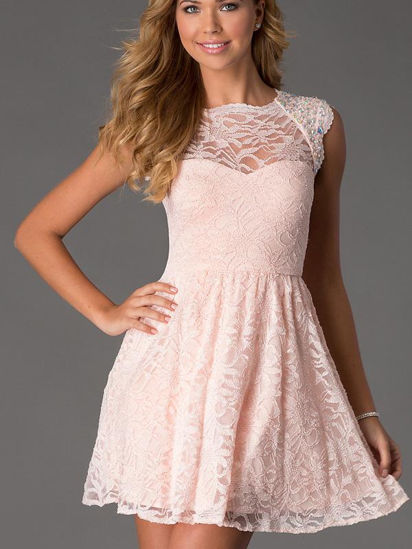 Une robe pour mariage dentelle la boutique de maud for Robe courte pour la noce