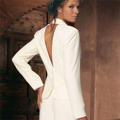 70955e55ca6ae Une tailleur mariage femme - La boutique de Maud