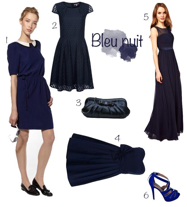 Bijoux fantaisie bleu marine la boutique de maud for Robe bleu marine pour mariage