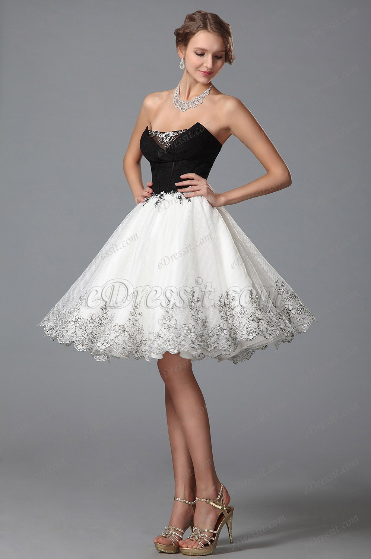 70c3923a528 Une robe soirée courte. Une robe blanche cocktail