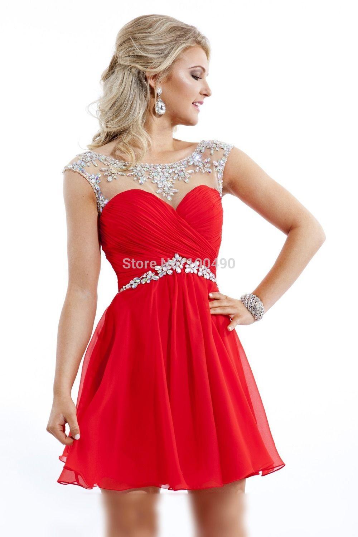 7043da1cb0a Je veux trouver une belle robe de soirée coloré ou élégante pas cher ICI Robe  rouge de soirée courte