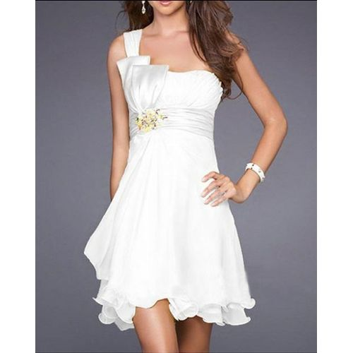 5aac61156fb14 Une robe blanche cocktail pas cher - La boutique de Maud